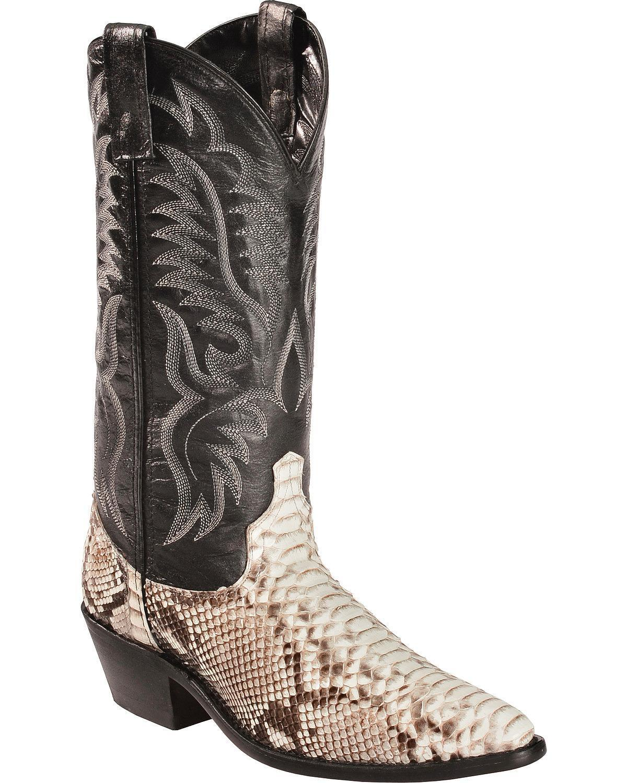 Laredo Mens Genuine Python Snakeskin Boots 6751 Wandrin