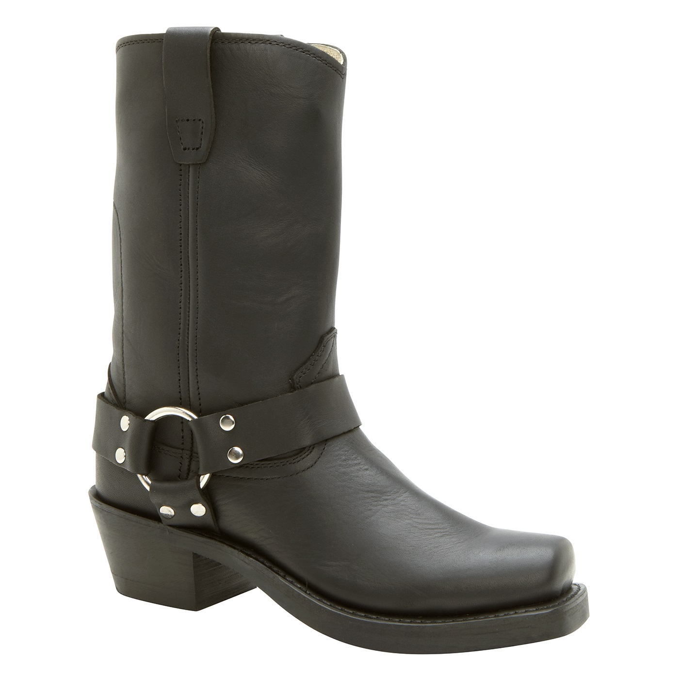durango s black harness western boots rd510