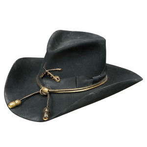 Charlie 1 Horse Cavalry with Insignia – (5X) Buffalo Fur Cowboy Hat