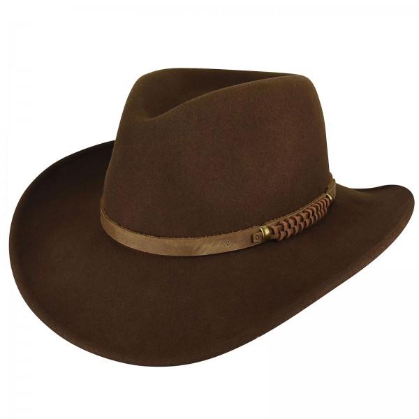 BAILEY® WIND RIVER Bullen Litefelt Western Hat