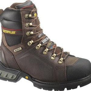 CATERPILLAR EXCAVATOR MENS BLACK BOOTS P90518