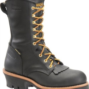 CAROLINA 10″ INSULATED GORE-TEX STEEL SAFETY TOE CAP BLACK LOGGER CA7518