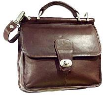 CHARLIE LEATHER Classic Executive Genuine Leather Case 200