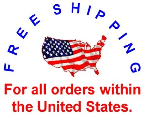 freeshipping For all order within the United States