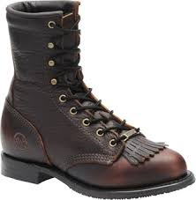 Double H Womens Lace-up Roper 9300
