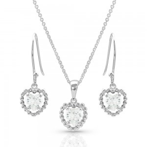 Frozen Heart Jewelry Set